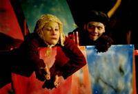 Samuel Beckett: A játszma vége - 2003 (Haik Viktória, Pásztor TiborI
